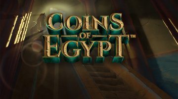 NetEnt Launched Coins of Egypt for Players to Collect Some Treasures